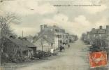 SOUDAN - ROUTE DE CHÂTEAUBRIANT A POUANCE . CPA ANIMEE . 1910 - Sonstige Gemeinden