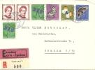 1951Einschreiben Express KW 75 - Lettres & Documents