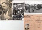 MAROC ALBUM DE 31 PHOTO 1ER TOUR DU MAROC CYCLISTE EN 1937 +BANDE MAGN KODAK 1949. COL ANDRE BIBAL  M CERDAN DEDICACE - Cyclisme