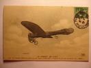 CPA AVION - LE CIRCUIT DE L´EST - MONOPLAN BLERIOT EN PLEIN VOL LEBLANC - CACHET ROND  1910 TBE Aviation Aeroplane Plane - Avions