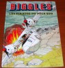 Biggles Les Pirates Du Pôle Sud Francis Bergèse Claude Lefrancq Éditeur 1991 - Biggles
