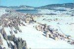 Suisse : Le Sentier Sous La Neige , Avec Le Lac De Joux - VD Vaud