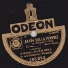 78 Tours - ODEON 165.993 - Le Maëstro DAJOS BELA - LA FEE SUR LA PENDULE - LES PATINEURS - 78 T - Disques Pour Gramophone