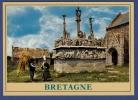 29 SAINT-JEAN-TROLIMON Calvaire De Tronoên Le Plus Ancien Des Calvaires Bretons ; Bigoudène - Animée - Saint-Jean-Trolimon