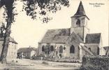 Cp 21 Cote D'Or TORCY POULIGNY L'église ( Attelage Boeufs Chevaux ?  Cimetière Café Habitations   ) - France