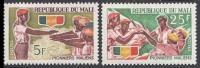 MALI 1966 MNH** - Pioniers Of Mali - Mi 132-3, YT 96-7, Sc94-5 - Ohne Zuordnung