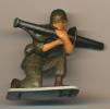 Figurine STARLUX (France) : Soldat Lance-Roquette, Militaire, Armée De Terre - Starlux