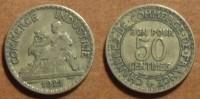 1921 - France - 50 CENTIMES, Chambres De Commerce - G. 50 Centimes