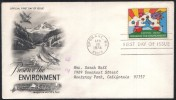 US UNITED STATES AMERICA U.S 1974 FIRST DAY COVER FDC PRESEWE ENVIRONMENT EXPO 74 WORLD FAIR SPOKANE - United States