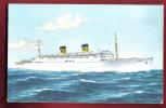 P783 Home Lines S.S. Homeric Cruises. Non Circulé. Tormenia - Paquebots