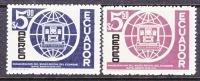 Ecuador C 483-4  *  POSTAL MUSEUM - Ecuador