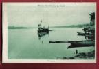 P807 Brazil L'araguaya. Mission Dominicaine Du Brésil.Bâteaux Et Barques.Circulé En 1961 Avec Timbre Suisse. - Unclassified