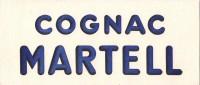 BUVARD  COGNAC MARTELL - Liqueur & Bière