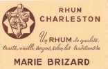 BUVARD RHUM CHARLESTON  MARIE BRIZARD - Liqueur & Bière
