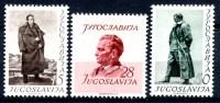 Yugoslavia Republic 1952 MI#693-695 * - Yugoslavia