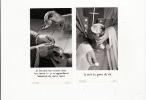 4 Images Pieuses Communion Marie Thérèse Et Jean Pierre Williot En 1950 Et 1958 Sablé Et Collège Sainte Croix - Images Religieuses