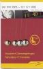 Horaire De Poche - Thalys - 04.09.2005 - 10.12.2005 - Europe