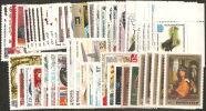 Russia 1982 MNH**  -  N° 51 Stamps In Compl. Sets VF   -   Item Description  Vedere Dettagli - 1923-1991 USSR