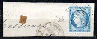 N°60A -- OBLITERATION DE PARIS --  ETOILE  22 , Sur Fragment - 1871-1875 Ceres