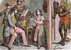 CPSM LES ANTILLES FRANCAISES D AUTREFOIS Leçon De Musique écoute Aux Portes Si Bandes Jaunes Dues Au Scan - Histoire