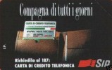*ITALIA: COMPAGNA DI TUTTI I GIORNI - AA27* - Scheda Usata Bilingue - Italy