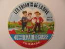 A-79128 - étiquette De Fromage - Camembert Les Enfants De La Dive 200g - Fromagerie De Lezay - Deux-Sèvres 79 - Fromage