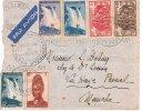 Belle Lettre YAOUNDE - Juin 1940 - Contrôle Postal - Par Avion - Covers & Documents
