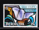 Bermuda 1992 Stained Glass Windows 25c Ship Wreck MNH - Bermudes