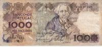 Billet - Portugal - 1000 Escudos - 1988 - Portugal