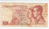 Billet - Belgique - 50 Francs - 16.05.1966 - [ 6] Staatskas