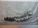 Moissonneuse Américaine Pour Céréales  , Tirée Par 30 Chevaux - Documentos Históricos
