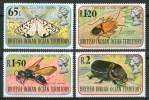 1976 British Oceano Indiano Insetti Insects Insectes Set MNH** B553 - Territorio Britannico Dell'Oceano Indiano