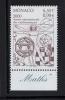 MONACO 2000-1 Timbre (1) N°YT 2265** -Année Internationale Des Mathématiques 6.50fr 0.99€ BDF Texte - Monaco