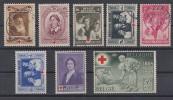 Belgien Minr.497-504 Gestempelt, Mit Falz - Belgien
