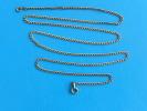 (119) Chaine Argent 6,70 Grs - 64 Cm - Collares/Cadenas