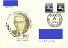 Lithuania Litauen Lituanie 1993 Geologist Academician Juozas Dalinkevicius - 100 Years (addressed Cover) - Lithuania