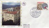 MONACO  Centenaire Du Collège Franciscain 1883/1983  27/04/83 - Christianity