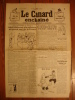 LE CANARD ENCHAINE N° 871 Du 8 MARS 1933 - HENRI GUILAC - POL FERJAC - PRUVOST - MONIER - Newspapers