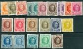 N° 190-210 X - 1922 - Belgio