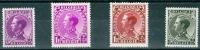 N° 390-393  X 1934 - Belgio