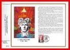 """CEF 1° Jour N°té De 1990 N° 1015 """" 200 ANS DE LA REVOLUTION : ABBEE GREGOIRE """" N° YT 2668 + Prix Dégres. - Franz. Revolution"""