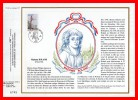 """CEF 1° Jour N°té De 1989 N° 957 """" MADAME ROLAND """" N° YT 2593 + Prix Dégressif."""
