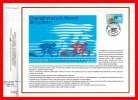 """CEF 1° Jour N°té De 1989 N° 954 """" CHAMPIONNATS DU MONDE DE CYCLISME A CHAMBERY """" N° YT 2590 + Prix Dégressif. - Wielrennen"""