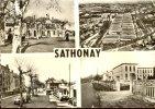 Sathonay ** Jolie Carte Dentelée PAS COURANTE  **  Ed J. Cellard N° 50094 - Other Municipalities