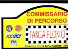 X MAX BIG Adesivo Stiker Etiqueta PLACCA TARGA RALLYE TARGA FLORIO 2005 CM. 20 X 42 CAR RACE SEE AUTOMOBILIA - Targhe Rallye