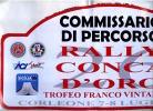 X MAX BIG Adesivo Stiker Etiqueta PLACCA TARGA RALLYE CONCA D'ORO 2006 CM. 22 X 44 CAR RACE SEE AUTOMOBILIA - Targhe Rallye