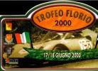 X MAX BIG Adesivo Stiker Etiqueta PLACCA TARGA RALLYE TROFEO FLORIO CM. 22 X 40 CAR RACE SEE AUTOMOBILIA - Targhe Rallye