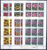 YU 1975-1601-6 FLOWERS, YUGOSLAVIA, 6MS, MNH - Blocks & Kleinbögen