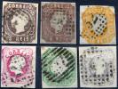 PORTUGAL 1862 Luiz I - Yv.13-17 (Mi.12-16, Sc.12-16) Incl. Types (F-VF) - Usati
