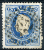 PORTUGAL 1867 Perf.12.5 - Yv.33 (Mi.32, Sc.32) Pefect (VF) - 1862-1884: D. Luiz I.